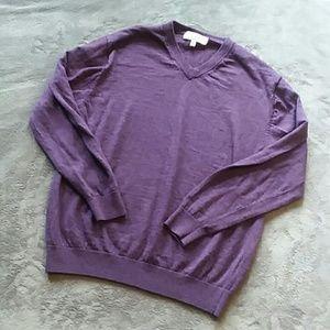 Turnbury men's size M V neck sweater